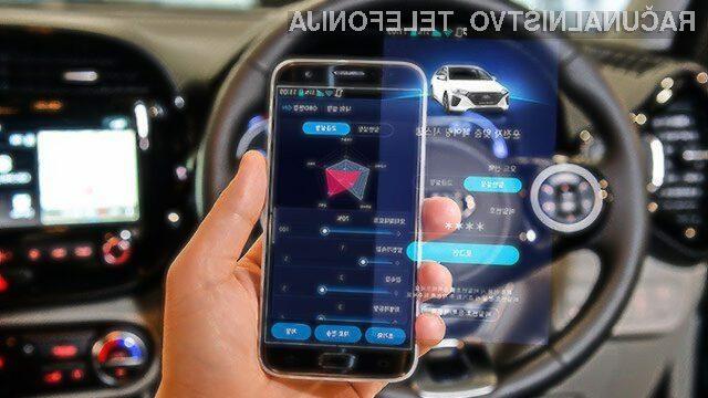 Z namensko mobilno aplikacijo bomo lahko prilagodili kar sedem funkcij oziroma lastnosti električnih avtomobilov.