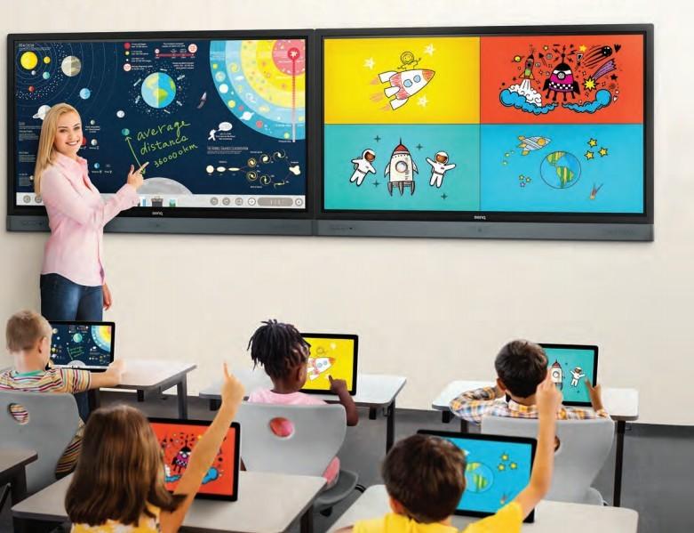BenQ  interaktivni zasloni: razmišljajte sodelovalno in na privlačen način