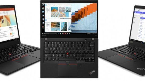 Zanesljivost prenosnikov ThinkPad™ združena z zmogljivostmi novih mobilnih procesorjev AMD® Ryzen PRO