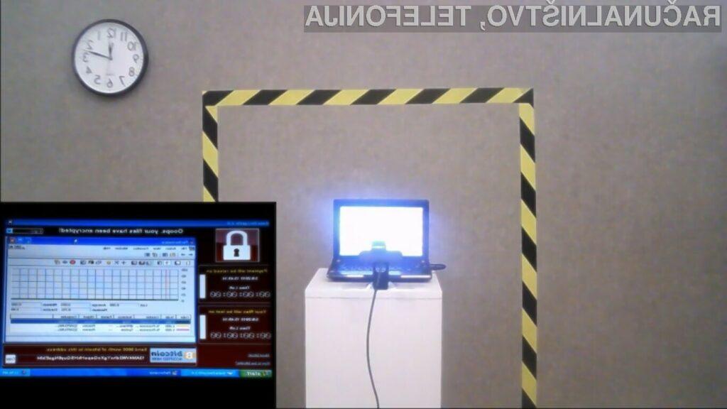 Za okužen osebni računalnik Persistence of Chaos bo treba odšteti vsaj preračunanih 1,1 milijonov evrov oziroma 1,2 milijonov ameriških dolarjev.