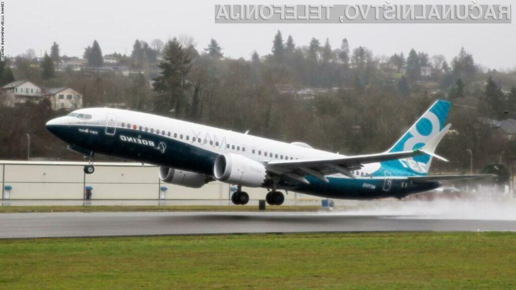 Letala Boeing 737 Max naj bi bila sedaj varna za potniški promet.