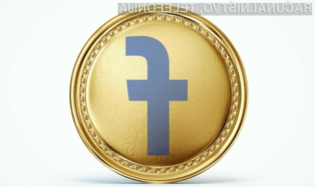Prva navidezna denarna valuta podjetja Facebook naj bi bila le še vprašanje časa!