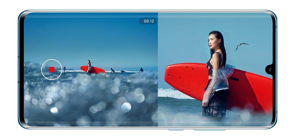 S Huaweijem P30 Pro boste zdaj lahko naredili dvojni videoposnetek