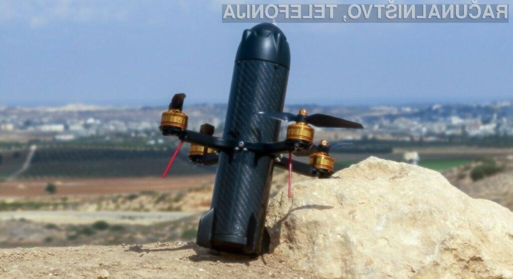 DroneBullet sovražne drone uniči tako, da se vanje enostavno zaleti.
