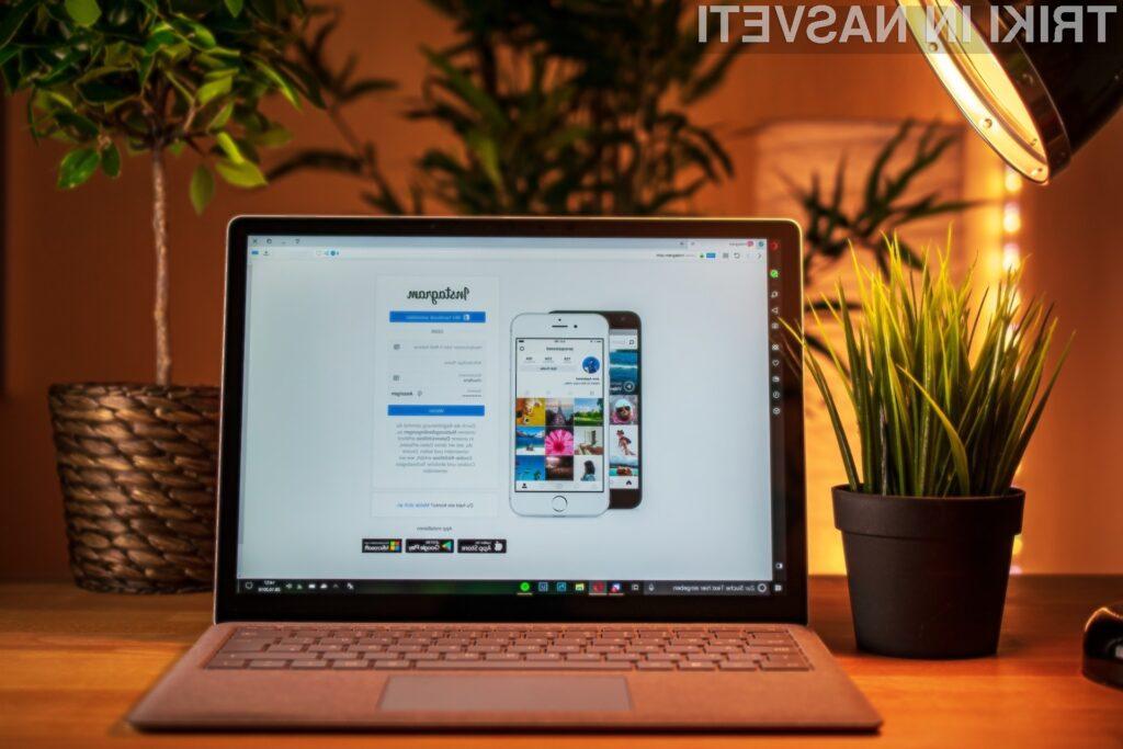 Kako iz računalnika ali tablice naložiti fotografijo na Instagram