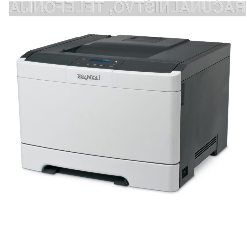 Barvni laserski tiskalnik Lexmark CS310de