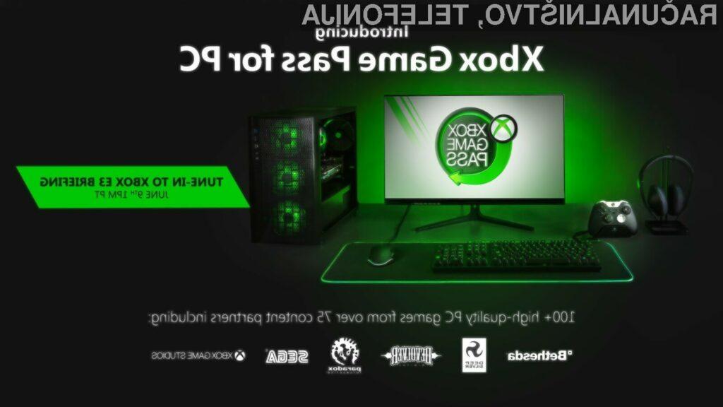 Xbox Game Pass.bo tudi lastnikom osebnih računalnikov kmalu omogočil dostop do več kot 100 iger.