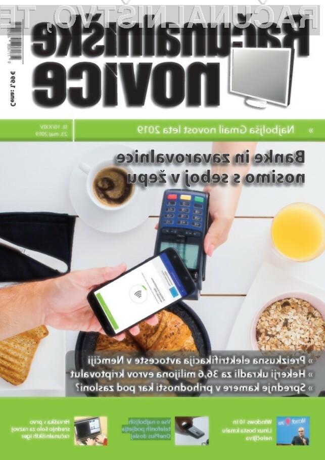 Nova številka revije: Banke in zavarovalnice nosimo s seboj v žepu