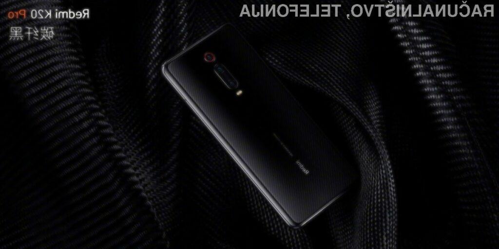 Pametni mobilni telefon Xiaomi Redmi K20 so cenovno precej bolj dostopni od konkurenčnih naprav.