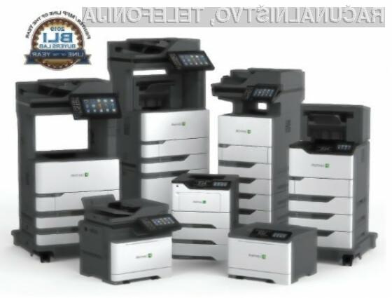 Idealen pisarniški tiskalnik? Lexmark GO Line naj bo!