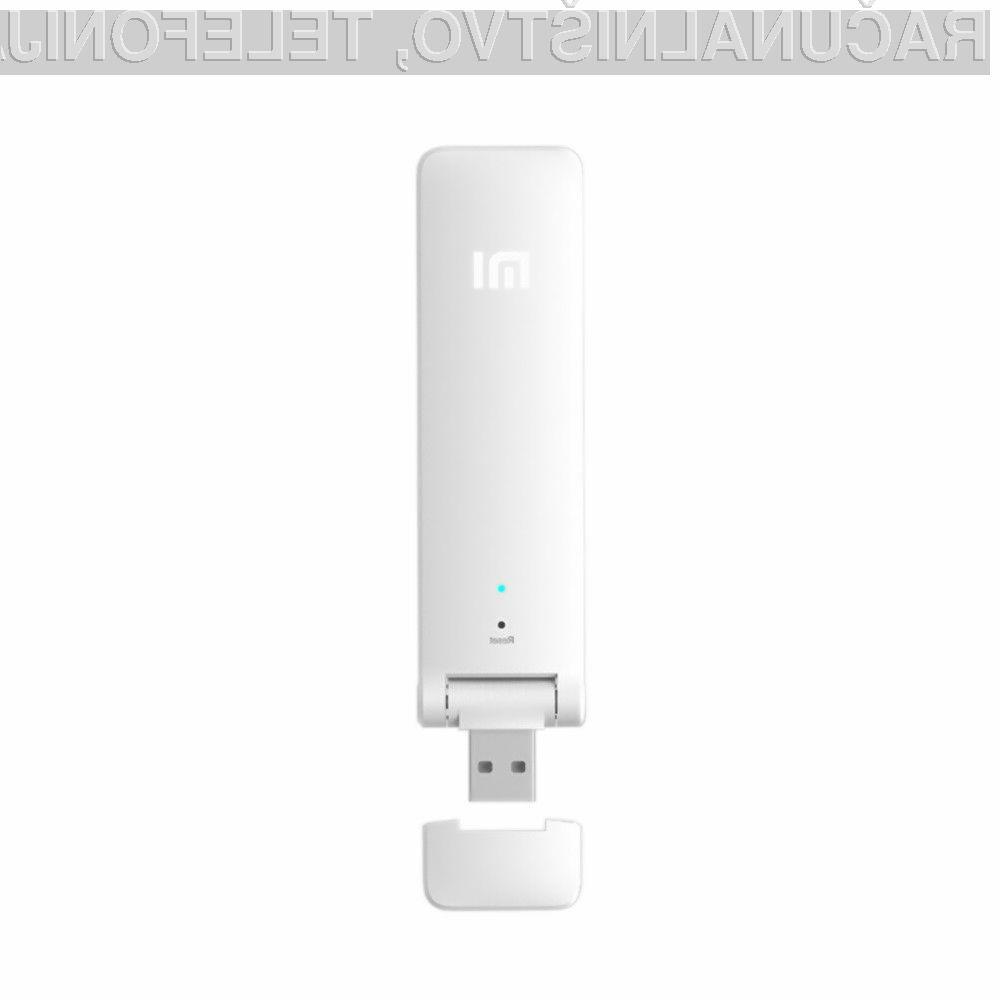 Brezžična dostopna točka Xiaomi WiFi Repeater je lahko naša že za 8,33 evrov.
