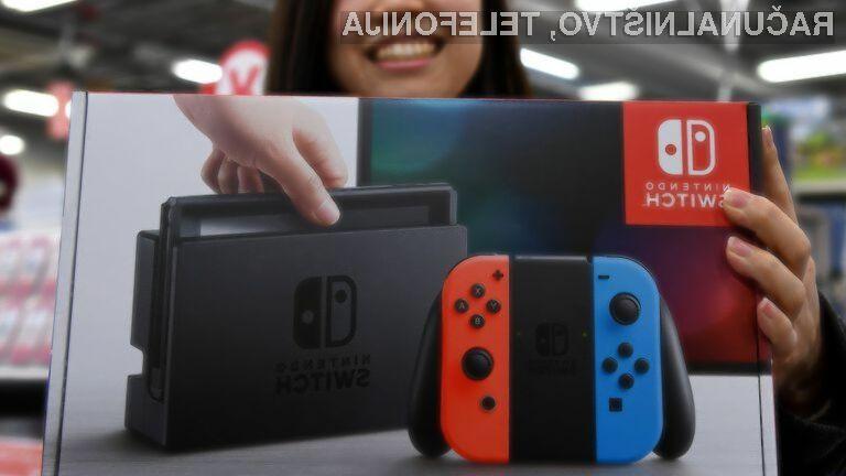 Novi igralni konzoli Nintendo Switch ne bosta izdelani na Kitajskem.
