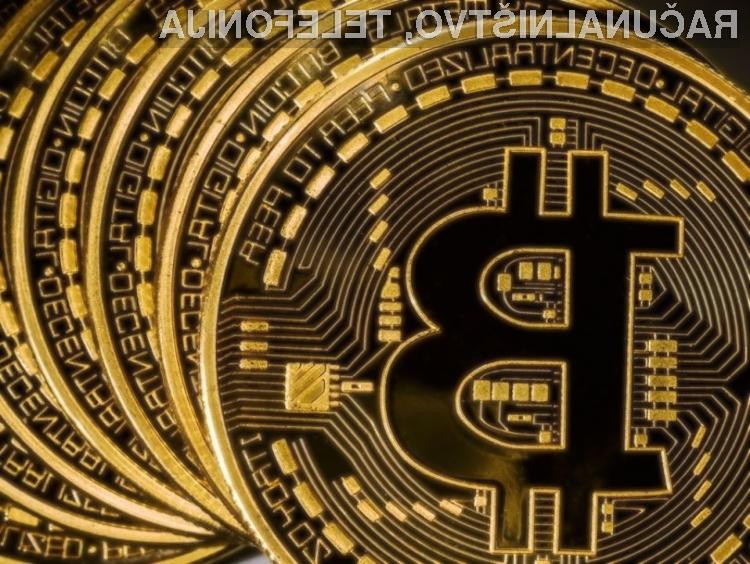 Bitcoin je nazaj