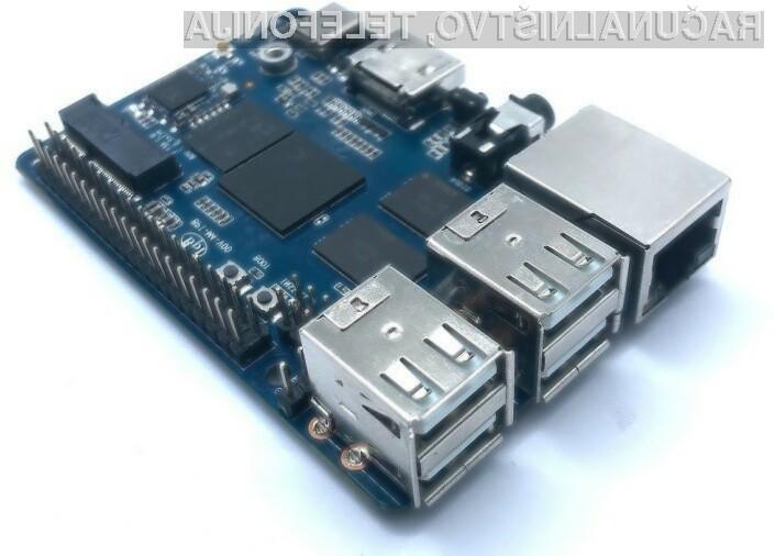 Osebni računalnik Banana Pi BPI-M4 bo kot nalašč za domači kino.