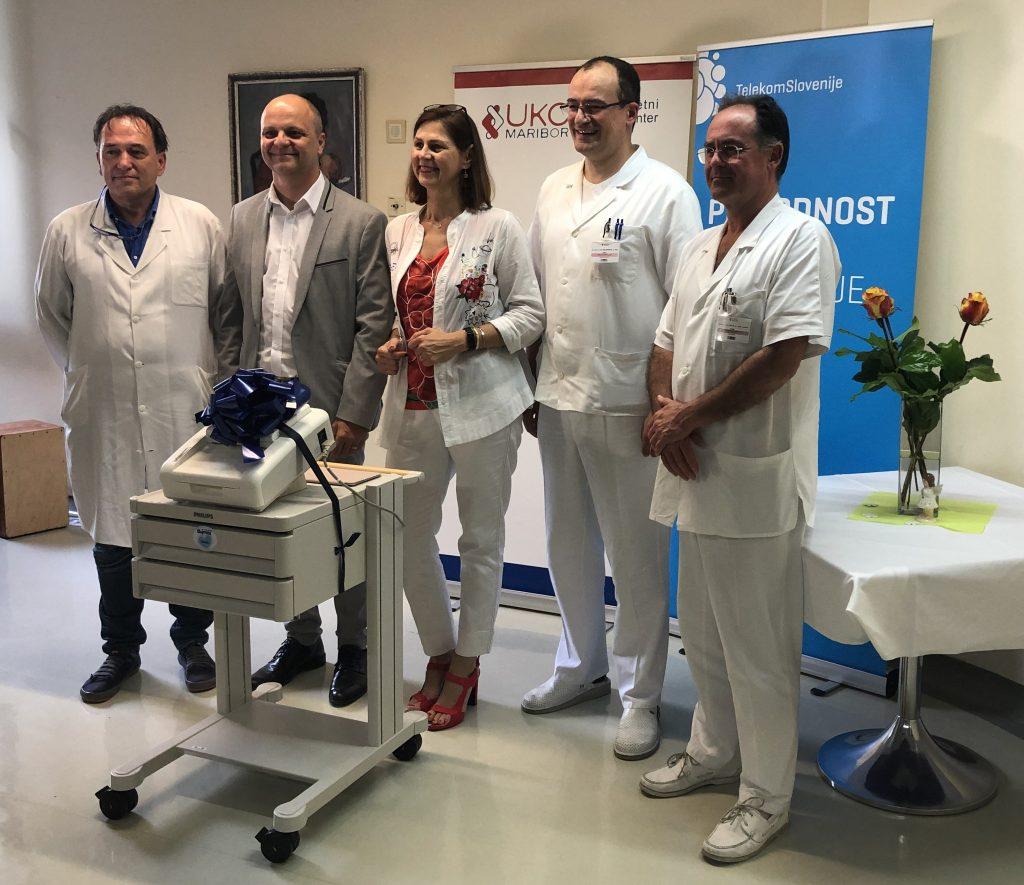 Oddelek za perinatologijo UKC Maribor ima nov sodoben CTG-aparat