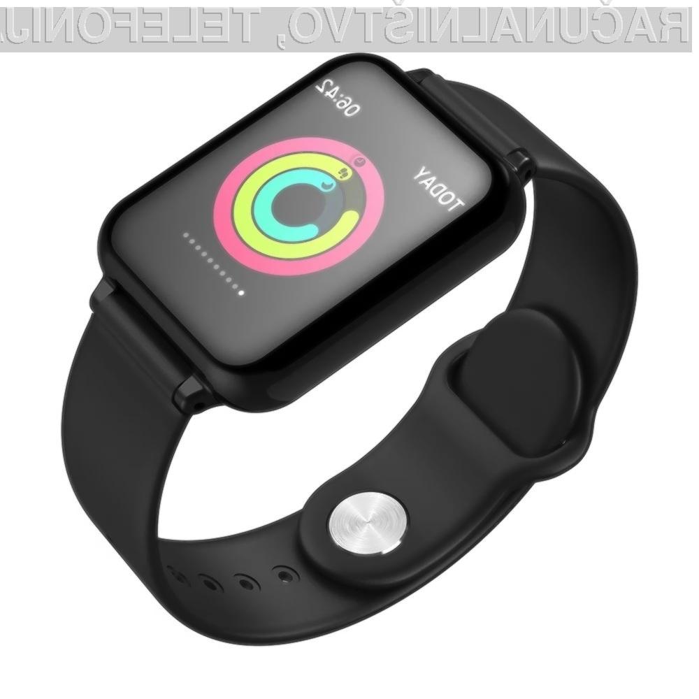 Pametna ročna ura LEMFO B57C Smart Watch za zgolj 19,77 evrov resnično ponuja veliko!