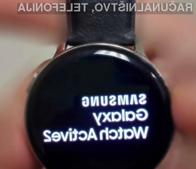 Pametna ročna ura Samsung Galaxy Watch Active 2 naj bi prinesla kar nekaj zanimivih novosti!