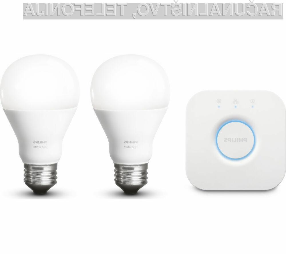 Pametne žarnice Philips Hue bodo kmalu bogatejše za brezžično tehnologijo Li-Fi.
