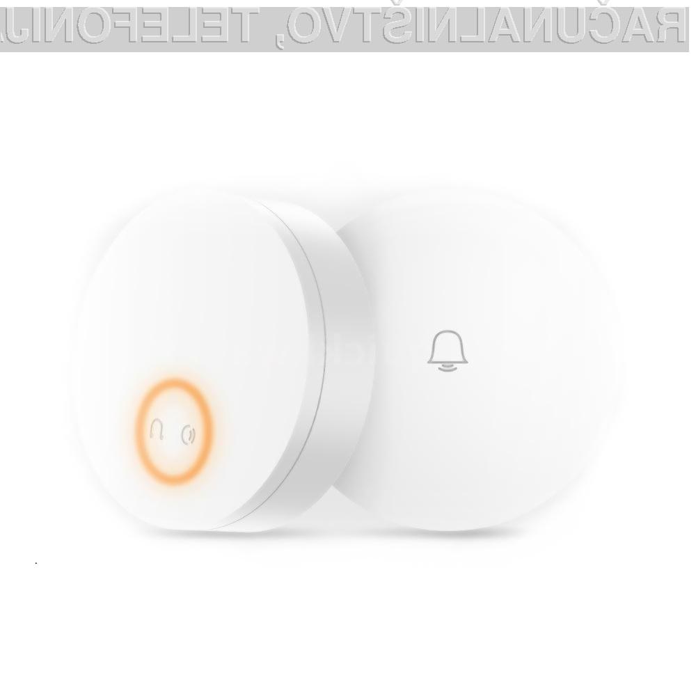 Brezžični zvonec Xiaomi Mijia Linptech je lahko naš že za preračunanih 16,85 evrov!