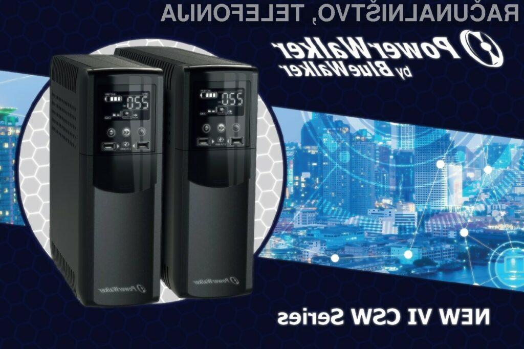PowerWalker UPS, vaša zanesljiva zaščita!