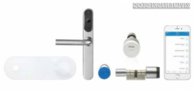 Varni s protivlomnimi vrati in pametno ključavnico
