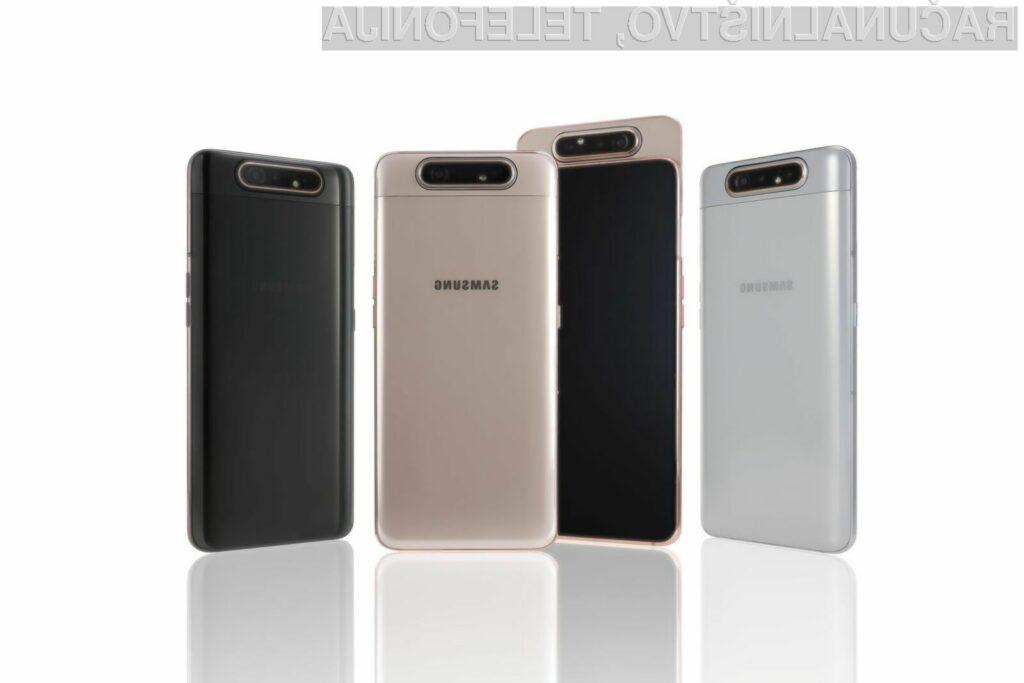 Novi Samsung Galaxy A80 je pisan na kožo ljubiteljem sebkov!