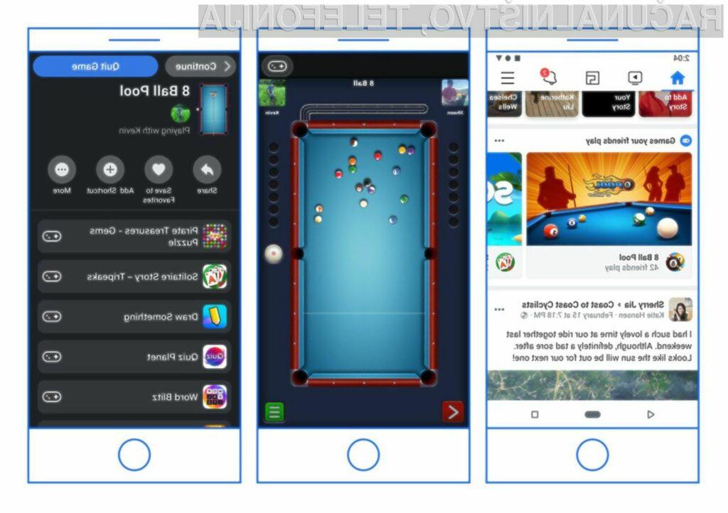 Messenger je brez iger hitrejši in enostavnejši za uporabo.