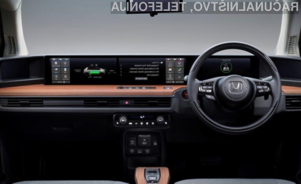 Nova Honda E bo izgledala naravnost fantastično.