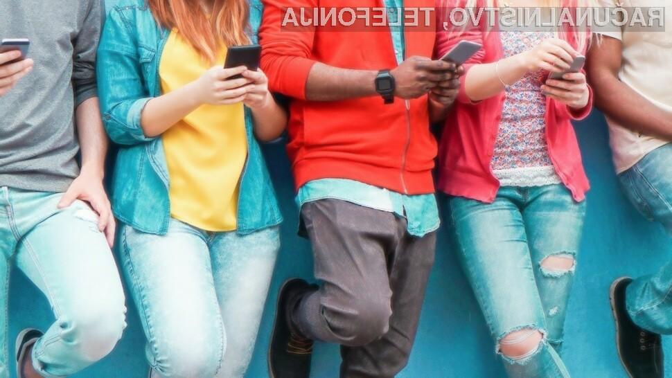 Facebook uporablja le še 31,2 odstotkov pripadnikov generacije Z.