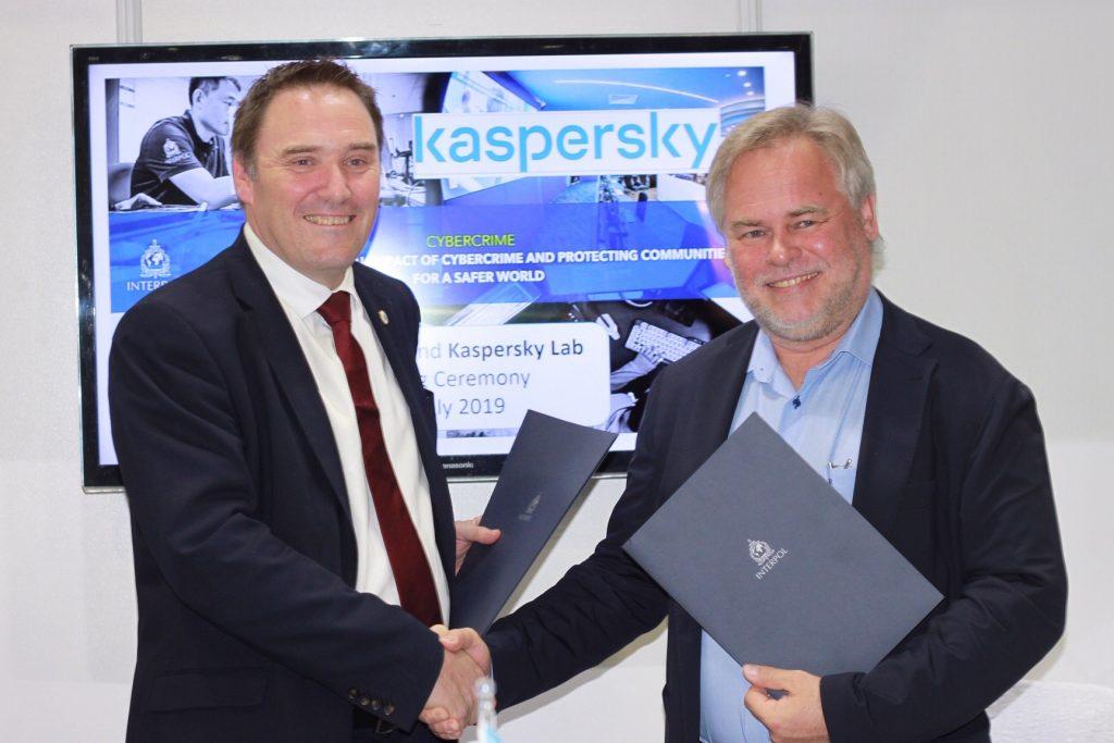Kaspersky in Interpol podpisala nov sporazum o sodelovanju