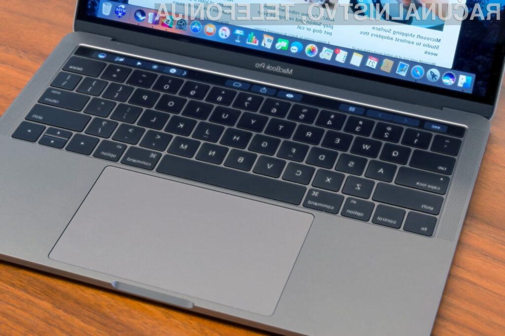 Tipkovnica novega prenosnika MacBook Pro naj bi bila precej boljša od te, ki je v uporabi danes.