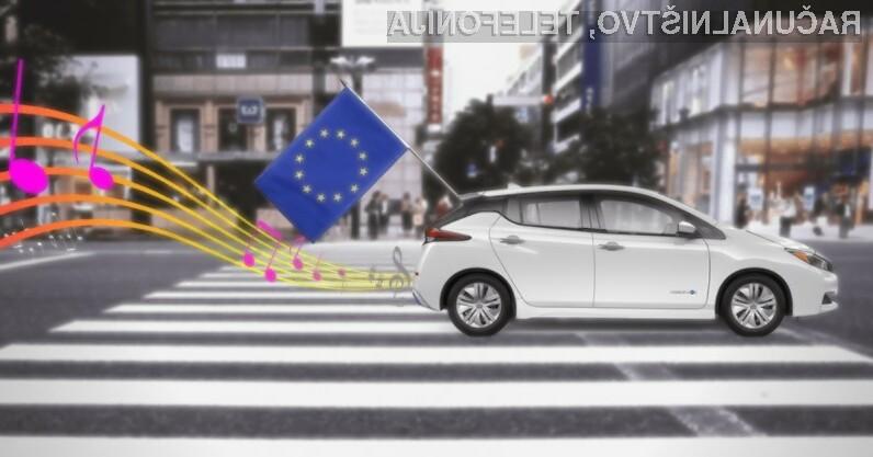Evropska unija poskrbela za glasnejše električne avtomobile