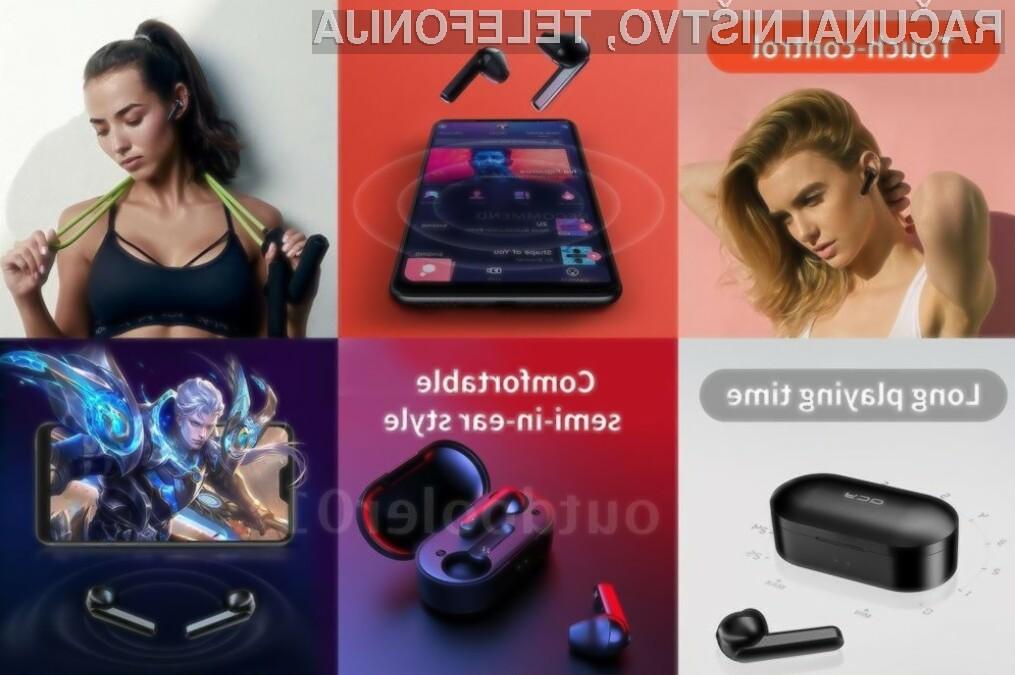 Z dotikom slušalk lahko upravljate z vrsto funkcij. Med drugim lahko prekinete ali aktivirate predvajanje glasbe ter preklapljate med posameznimi skladbami.