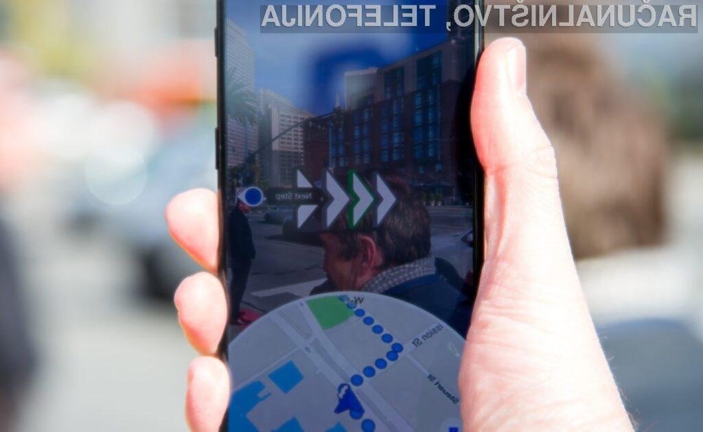 Google Maps Live View bo mogoče uporabiti na vseh sodobnejših telefonih Android in iOS.