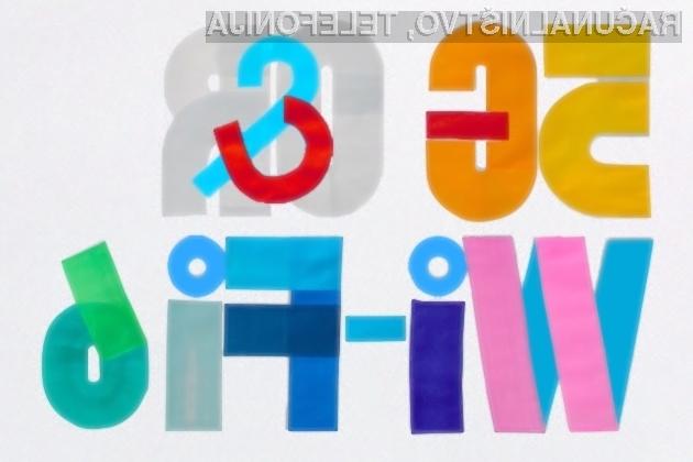 Od novega brezžičnega omrežja WiFi 6 in mobilnega omrežja 5G si lahko obetamo veliko!