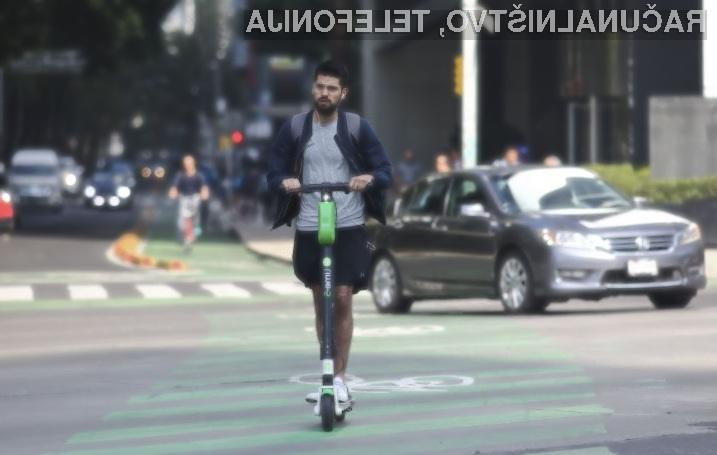 Klasična kolesa so precej bolj prijazna do okolja kot električni skiroji.