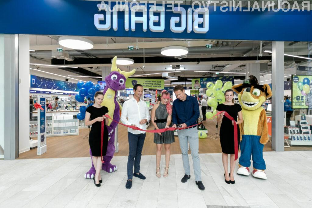 Big Bang v Mariboru odprl prvo prenovljeno trgovino