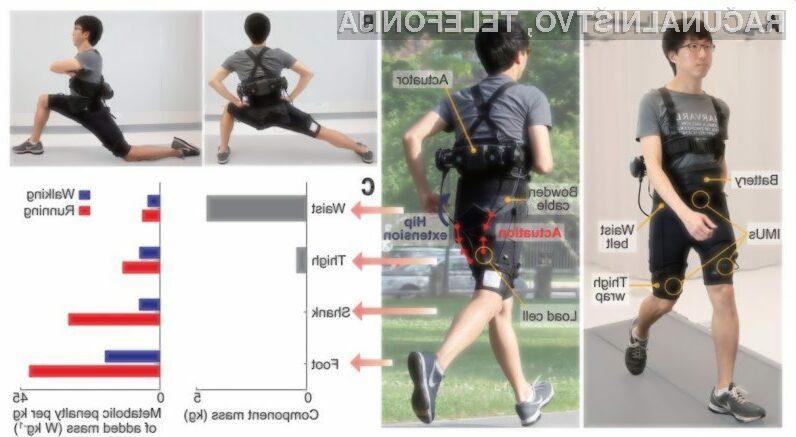 S temi robotskimi hlačami boste postali boljši tekači