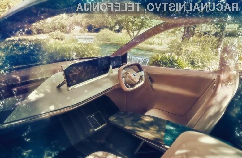 BMW prihodnosti, v katerem so še sedeži na dotik