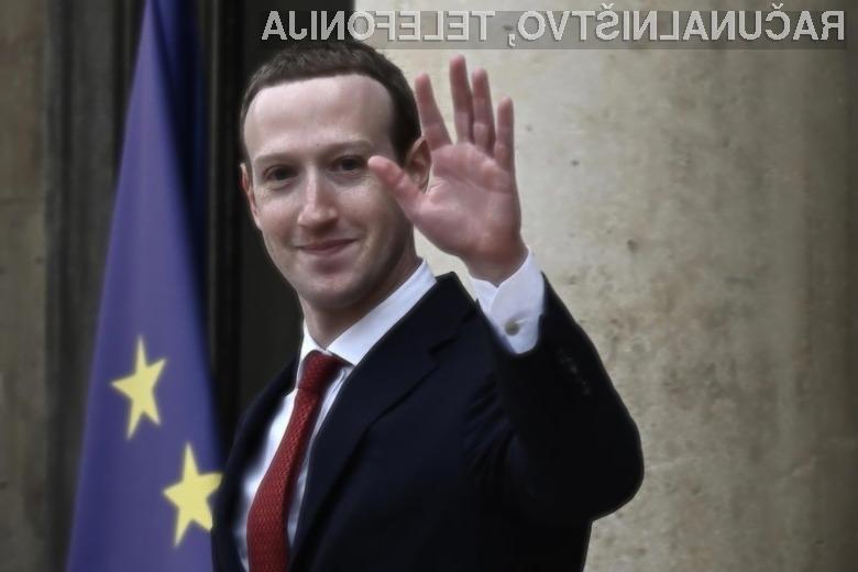 Glavni izvršni direktor Facebooka Mark Zuckerberg