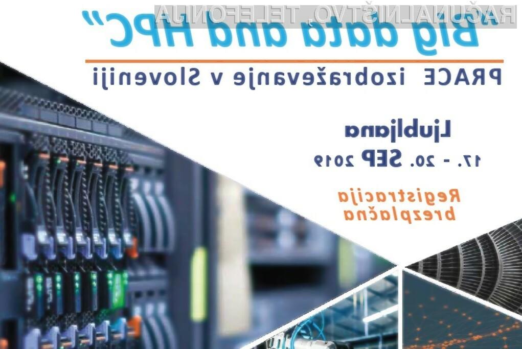 "PRACE jesenska šola 2019 ""Big data and HPC"""