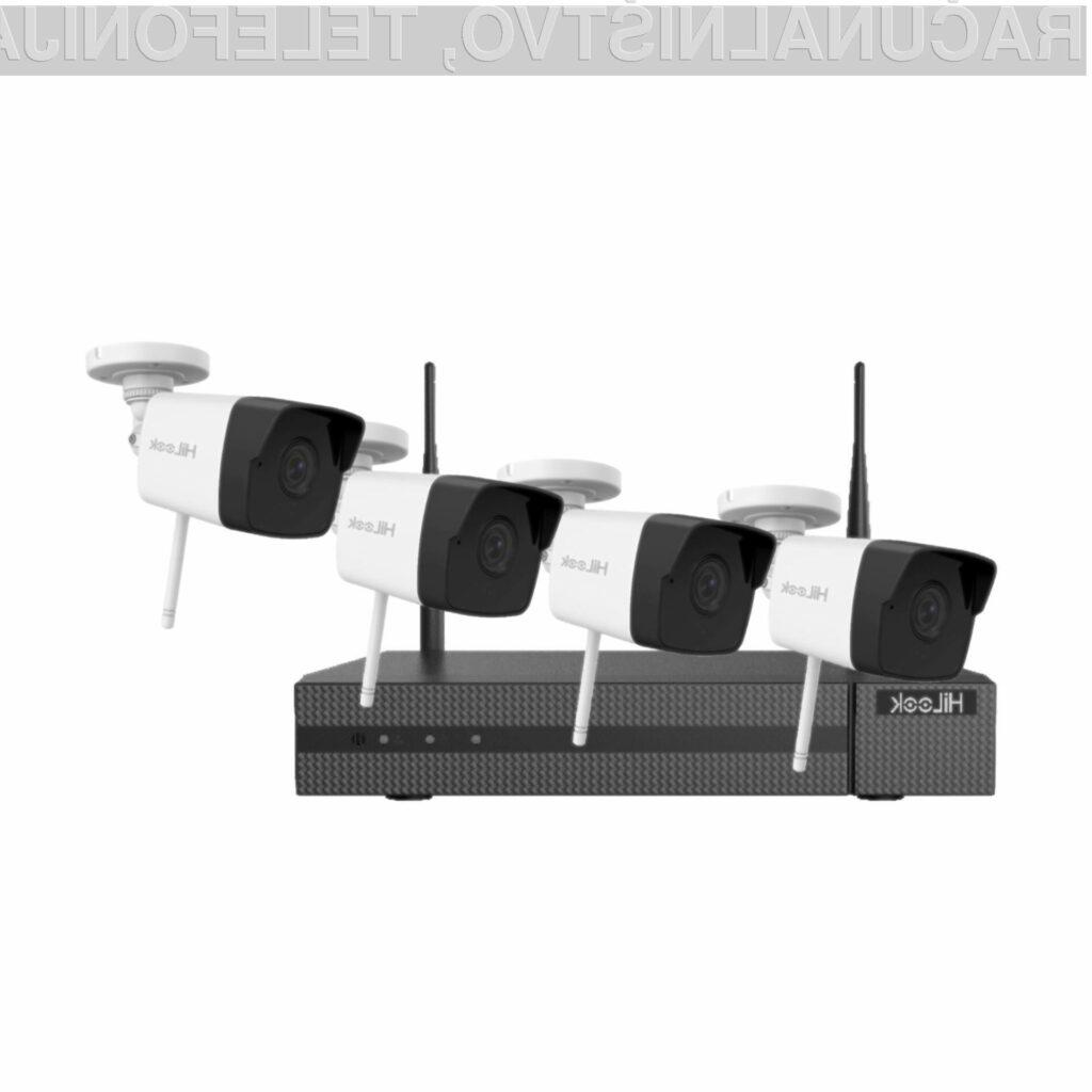Zmogljiv video nadzorni sistem visoke kakovosti po super ceni.