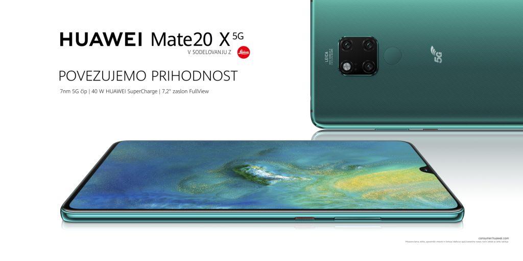 Huawei Mate 20 X (5G) je pionir na področju omrežja pete generacije