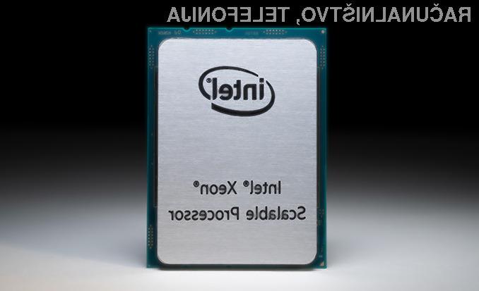 Intel s procesorjem Xeon Cooper Lake stavi na umetno inteligenco.