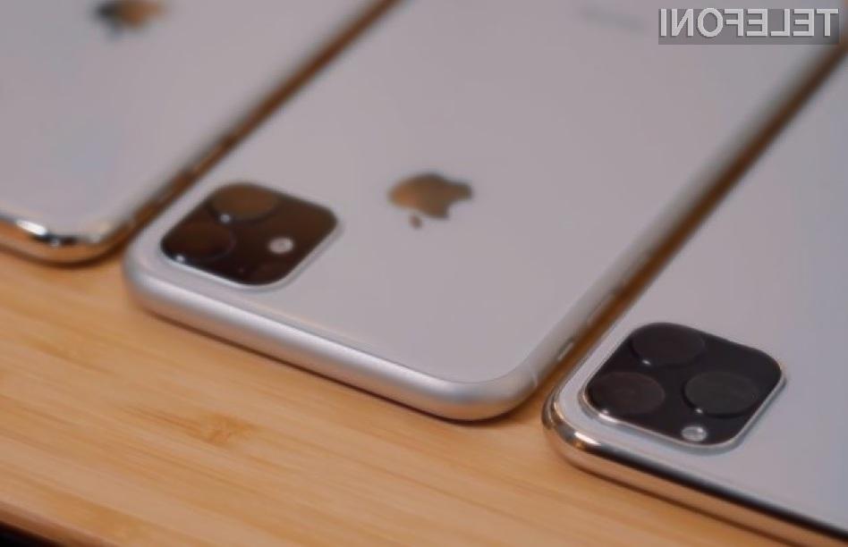 Pametni mobilni telefon iPhone Pro naj bi bil namenjen najzahtevnejšim uporabnikom.
