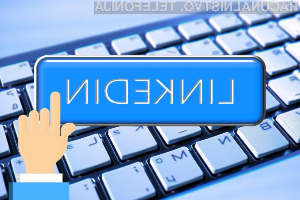Kako med top 3 % podjetij  z LinkedInom