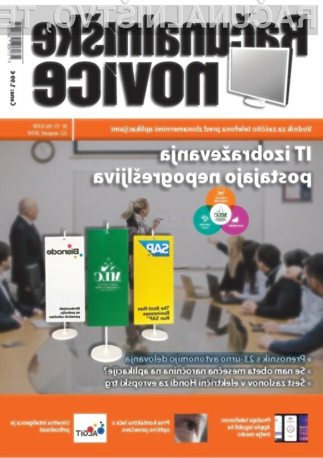 Nova številka revije: IT izobraževanja postajajo nepogrešljiva