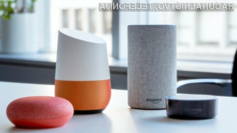 Vse več uporabnikov prisega na pametne zvočnike podjetja Google.