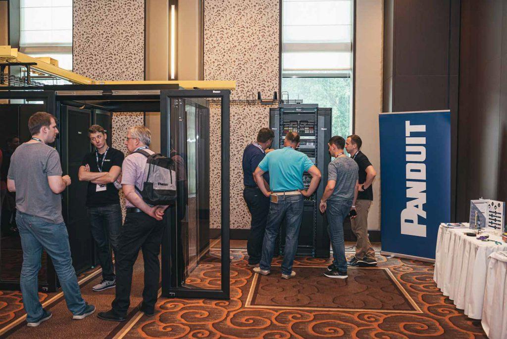 Na forumu v Portorožu so rešitve podjetja Panduit navdušile več kot 100 udeležencev iz 22 držav.