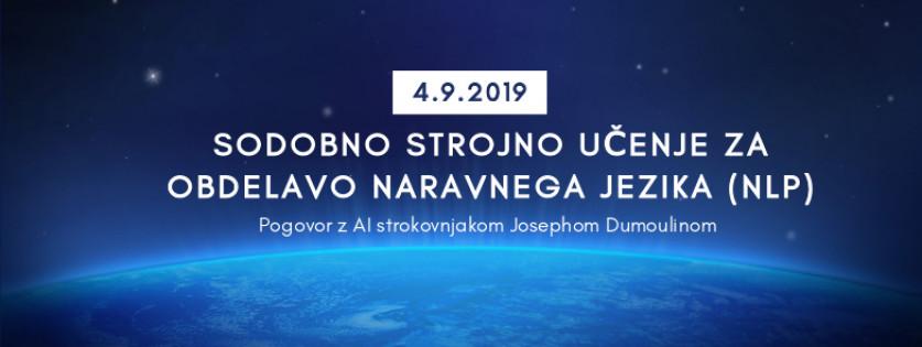 Pogovor z Josephom Dumoulinom, strokovnjakom za umetno inteligenco in varnostna vprašanja